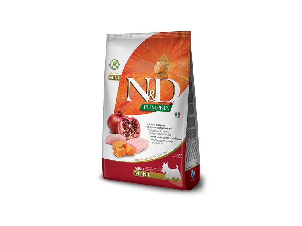 N&D Pumpkin DOG Adult Mini Chicken&Pomegranate 7 kg
