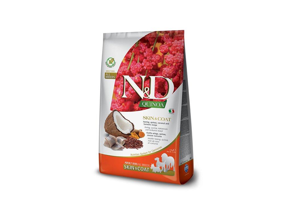 N&D Quinoa DOG Skin & Coat Herring & Coconut 7 kg