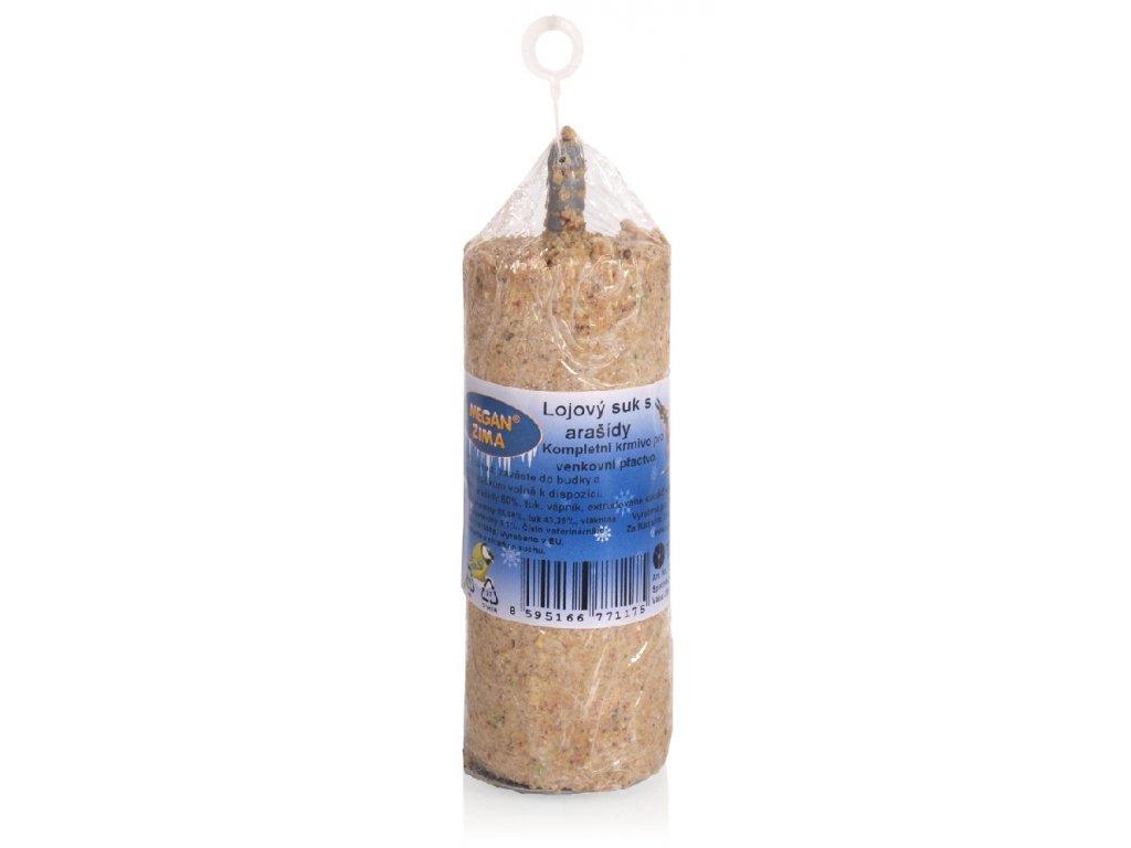 Lojový suk s arašídy pro venkovní ptactvo