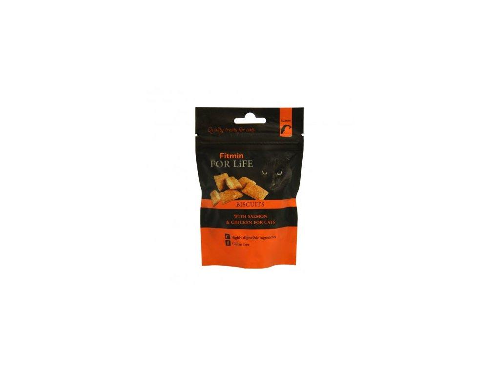 Fitmin For Life lososové polštářky s kuřetem 50 g