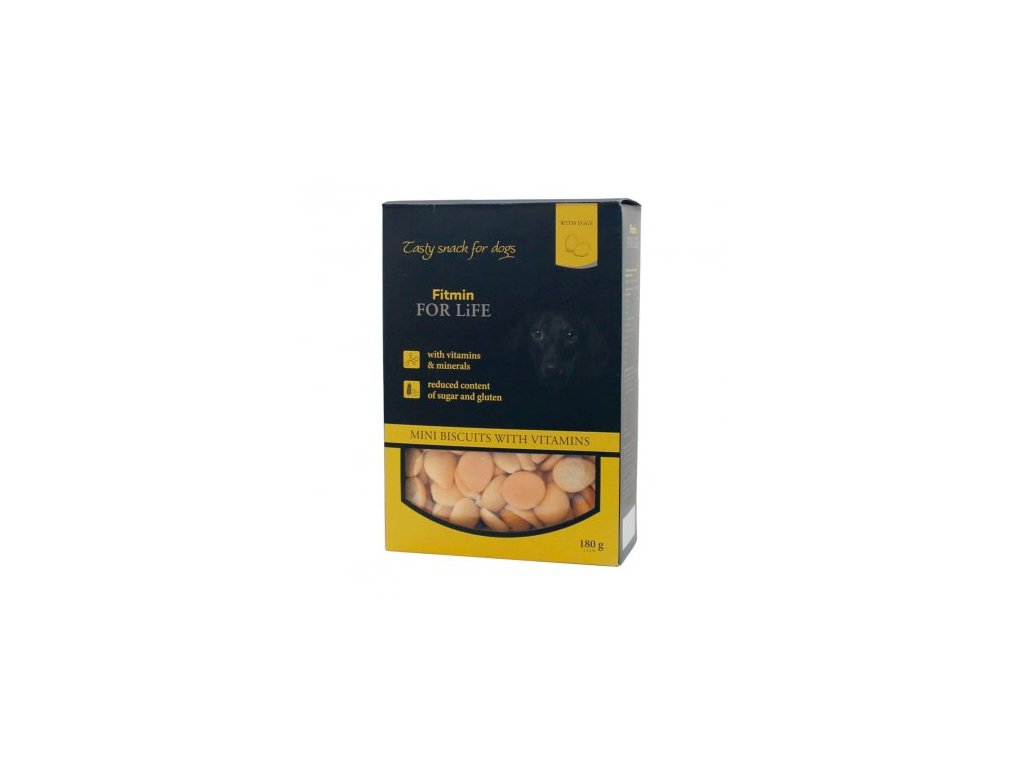 Fitmin For Life Mini piškoty 180 g