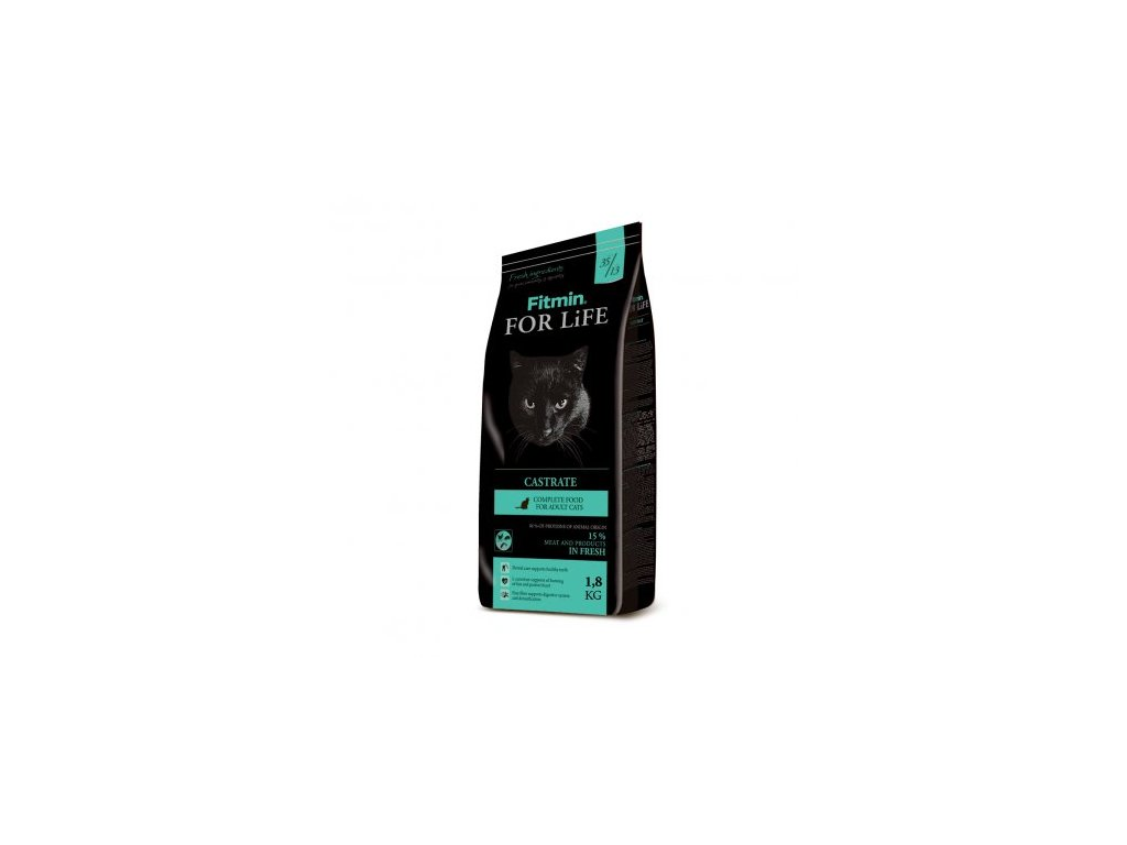 Fitmin For Life Castrate 1,8 kg