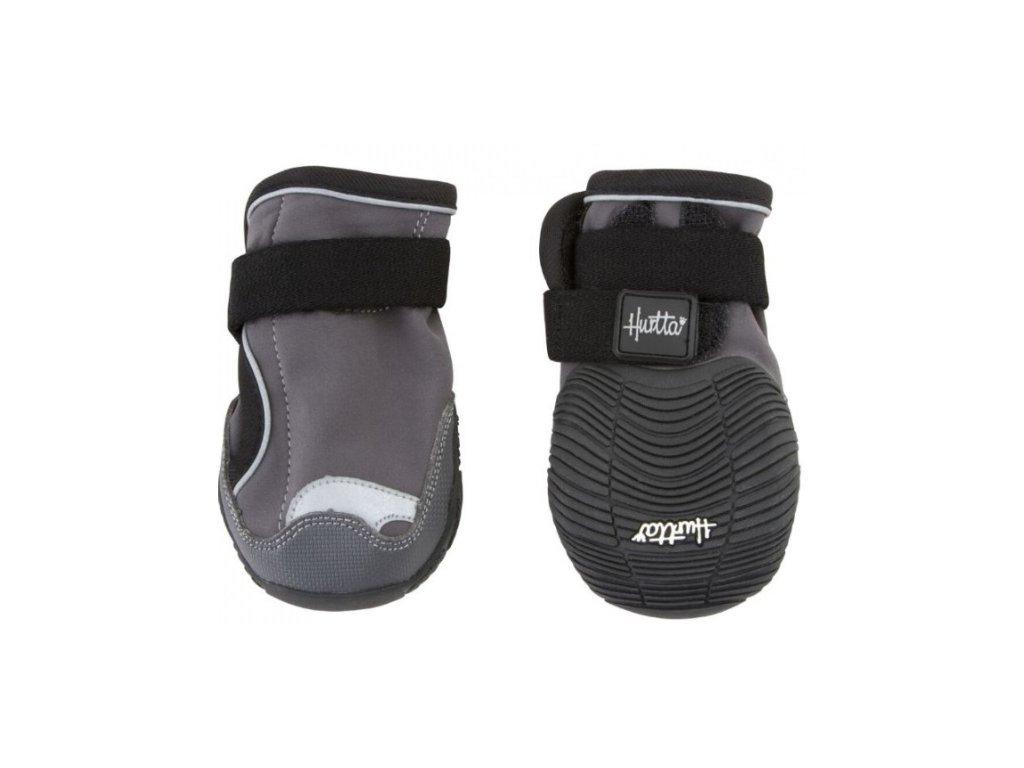 Botička ochranná Hurtta Outback Boots černá 2ks