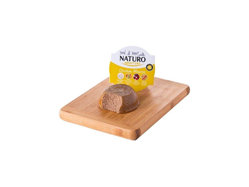 Naturo Cat Grain Free Chicken Mousse 85 g1
