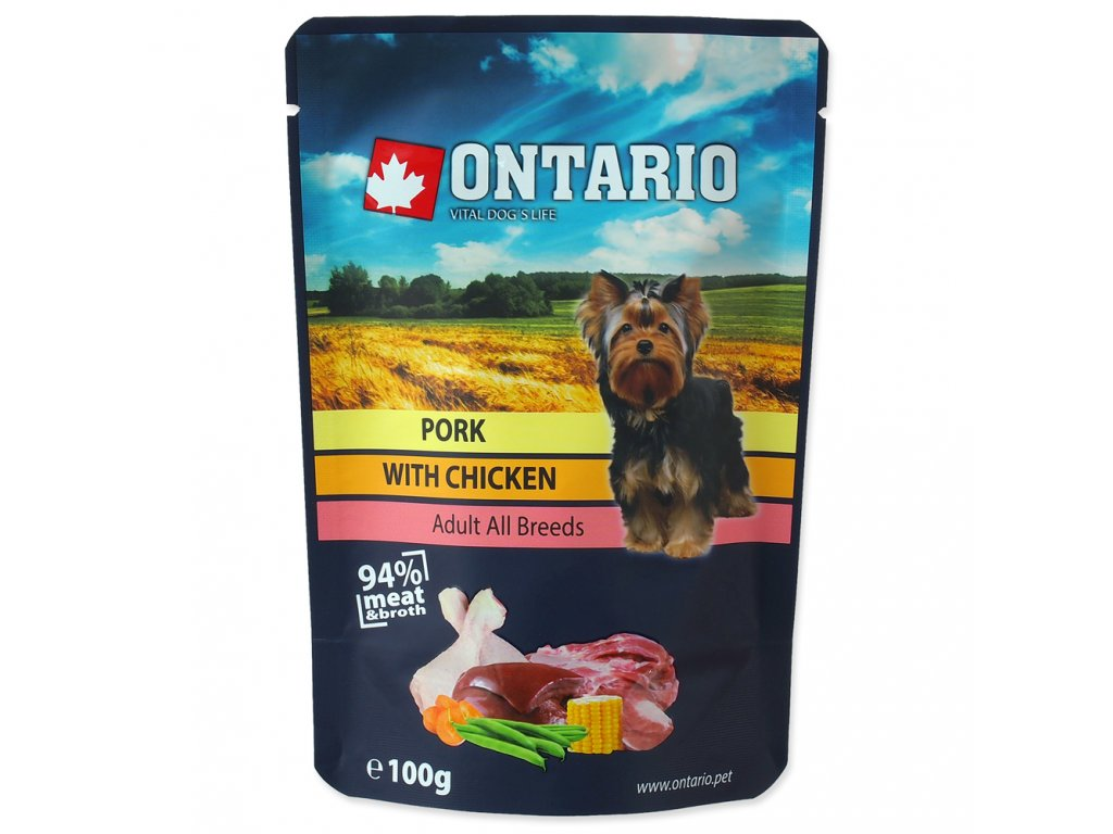1583 ontario kapsicka pork with chicken in broth 100 g
