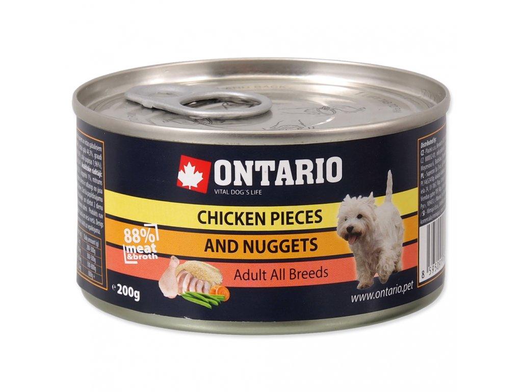 1589 ontario konzerva chicken pieces chicken nugget 200 g
