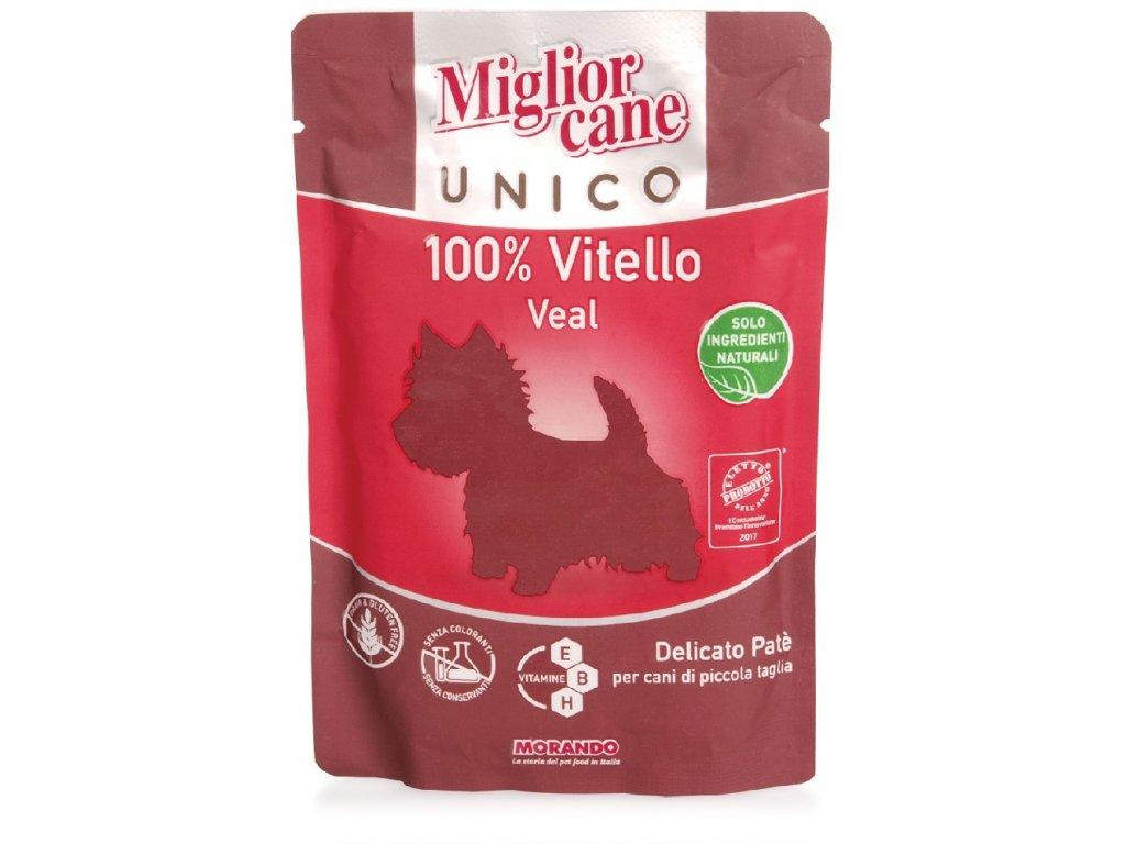 1601 miglior cane unico dog teleci 100 g