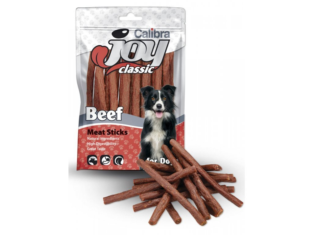 1673 1 calibra joy dog classic beef sticks 100 g