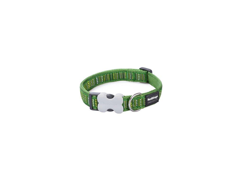 Obojek RED DINGO - Lotzadotz Green (Velikost 25 mm)