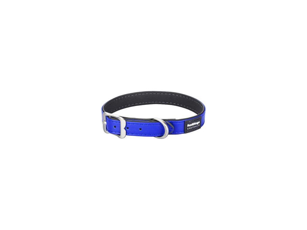 Obojek RED DINGO Elegant - Tmavě modrý (Velikost 15 mm)