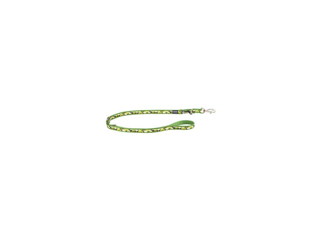 Vodítko RED DINGO přepínací 2 m vzor Camouflage Green (Velikost 20 mm)