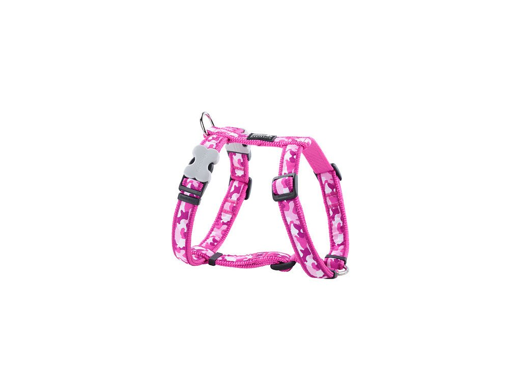 2120 2 postroj red dingo 15 mm x 36 54 cm camouflage hot pink