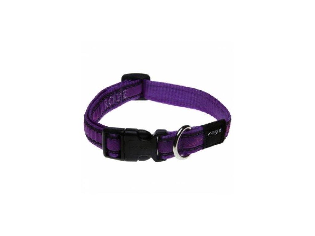 2360 1 obojek rogz fancy dress purple chrome m