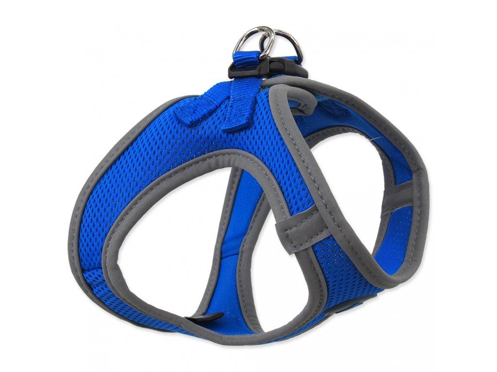Postroj DOG FANTASY puppy modrý (Velikost Velikost M)