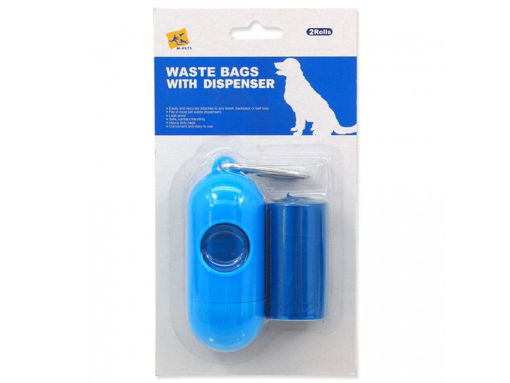 2816 1 zasobnik sacky dog fantasy na psi vykaly modry