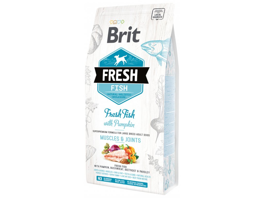 3830 1 brit fresh fish with pumpkin adult large muscles joints 2 25 kg
