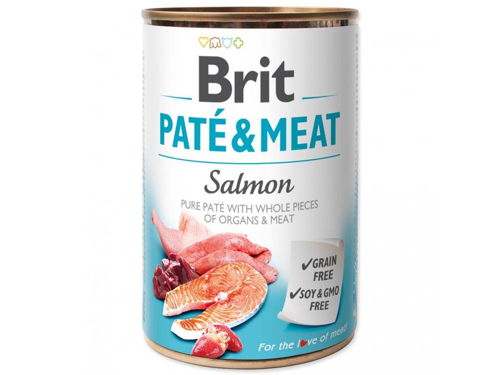 3866 brit konzerva pate meat salmon 400g