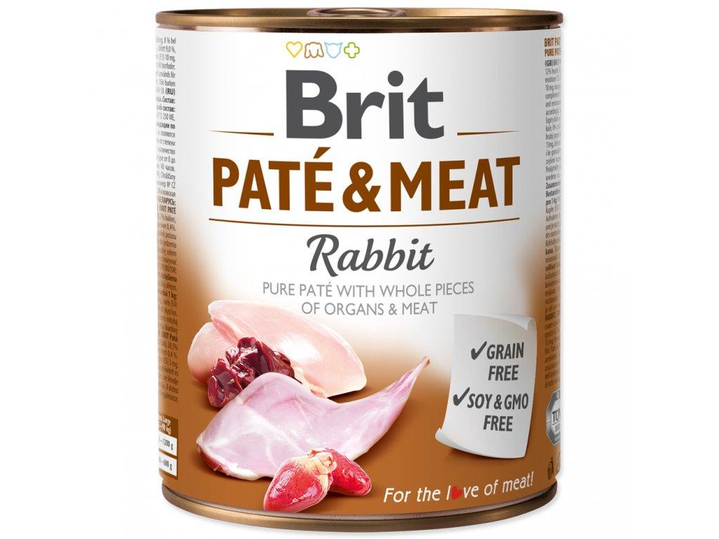 3884 brit konzerva pate meat rabbit 800g