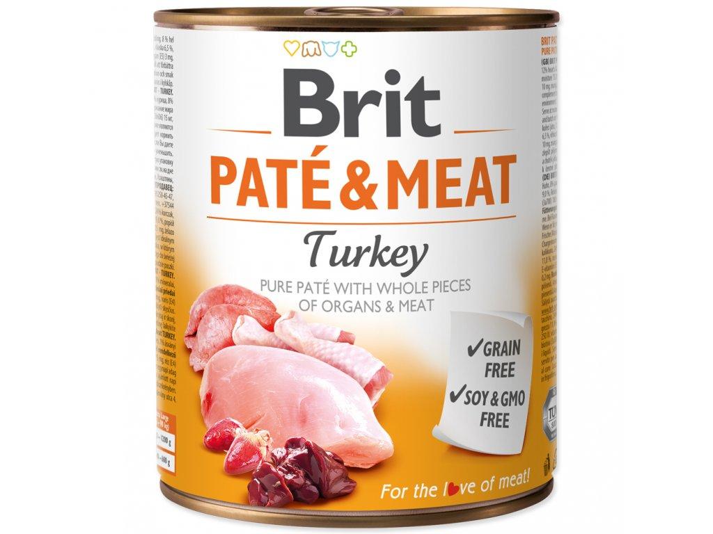 3890 brit konzerva pate meat turkey 800g