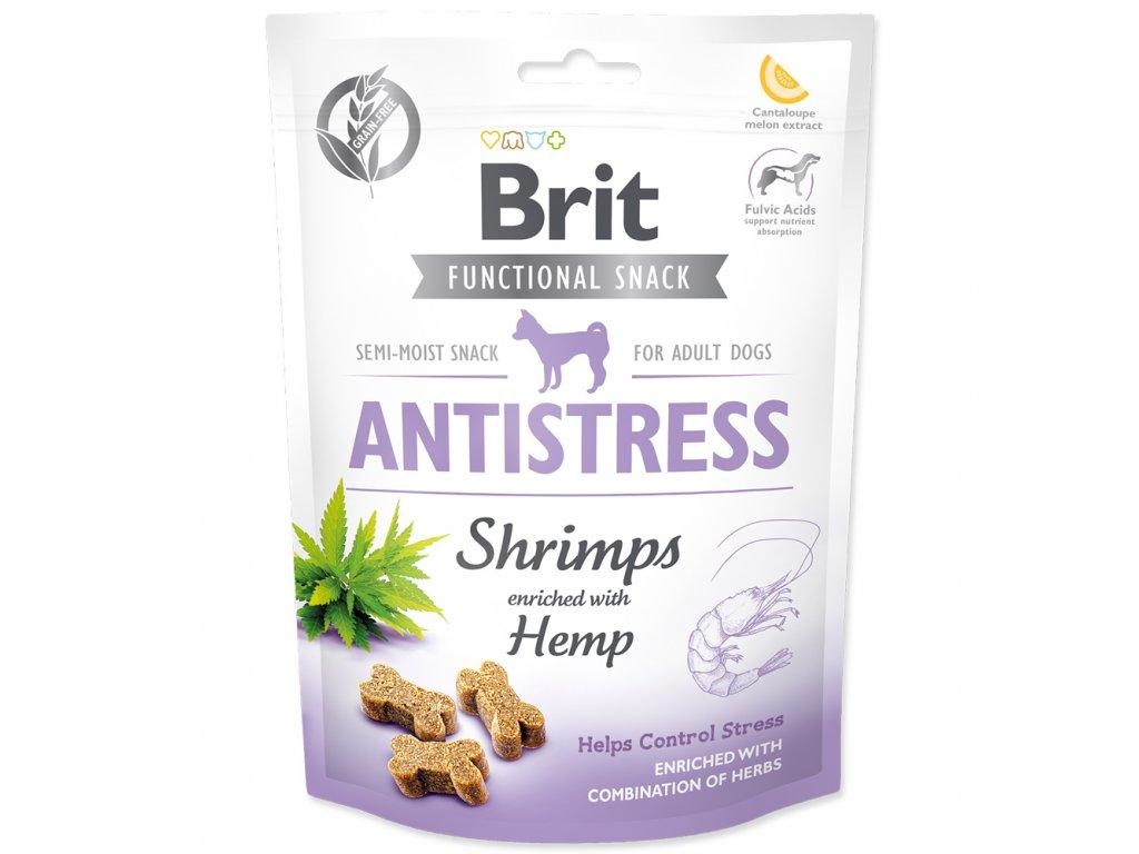 3929 brit care dog functional snack antistress shrimps 150 g