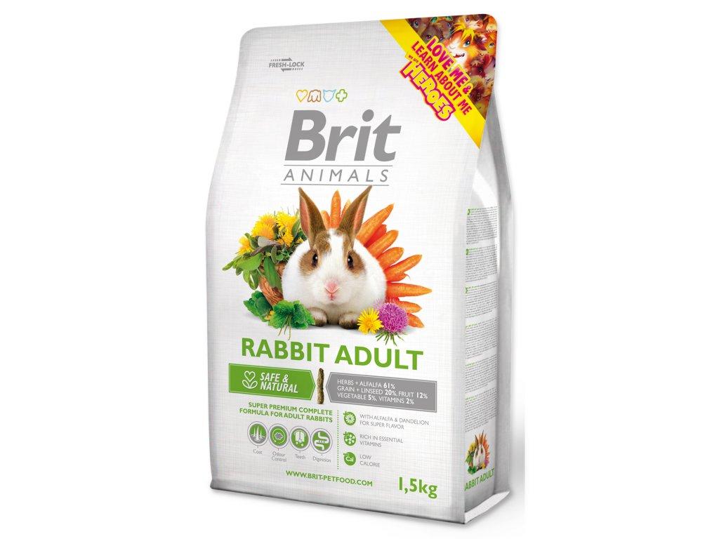 395 1 Brit Animals rabbit adult complete 1 5 kg