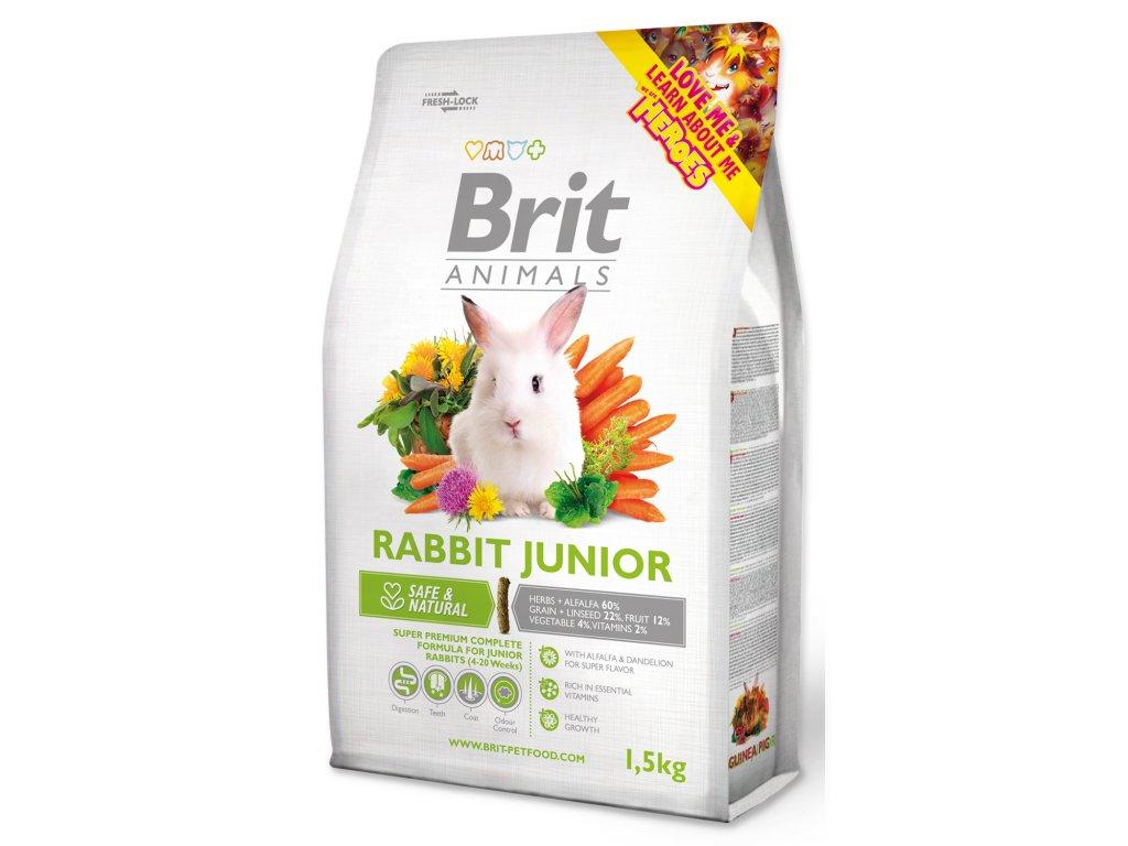 401 1 Brit Animals rabbit junior complete 1 5 kg