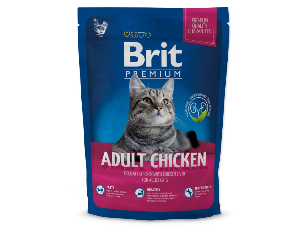 4112 1 brit premium cat adult chicken 800 g