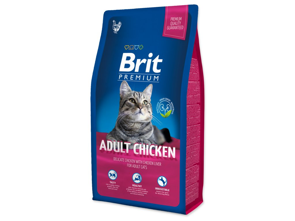 4118 1 brit premium cat adult chicken 8 kg