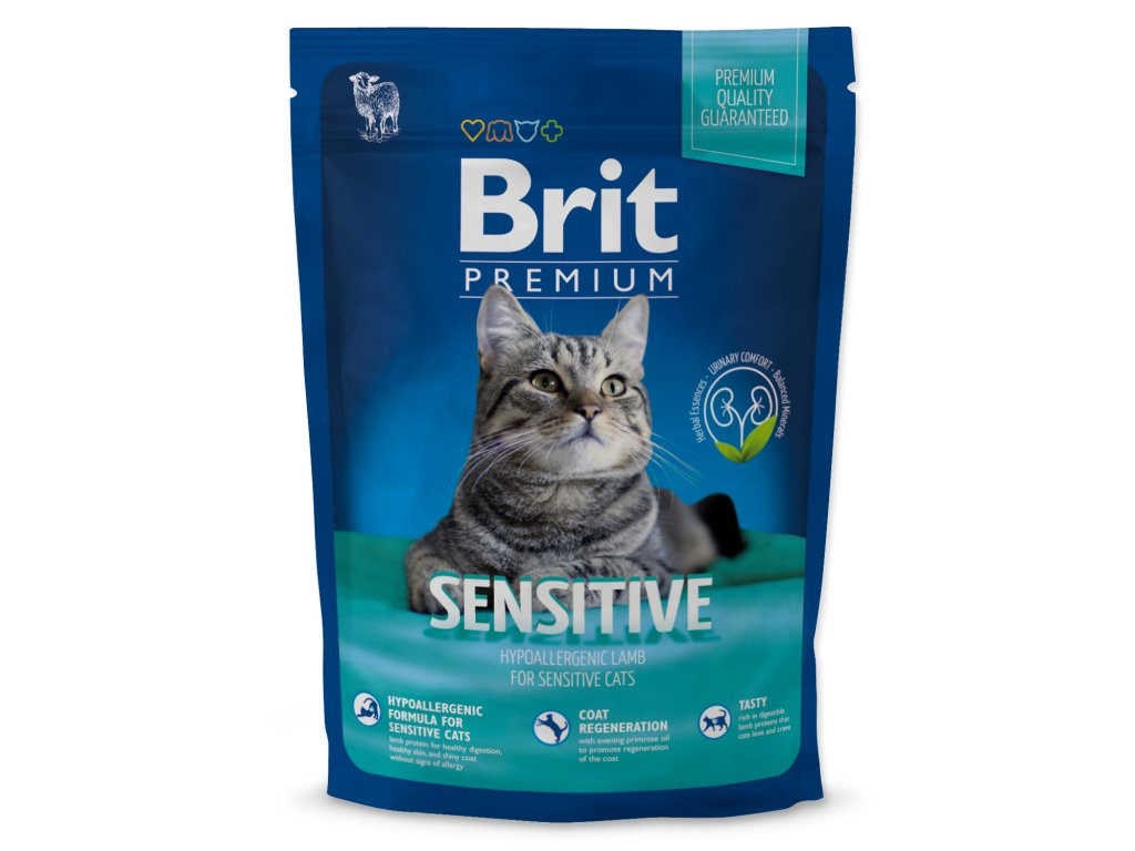 4136 1 brit premium cat sensitive 800 g