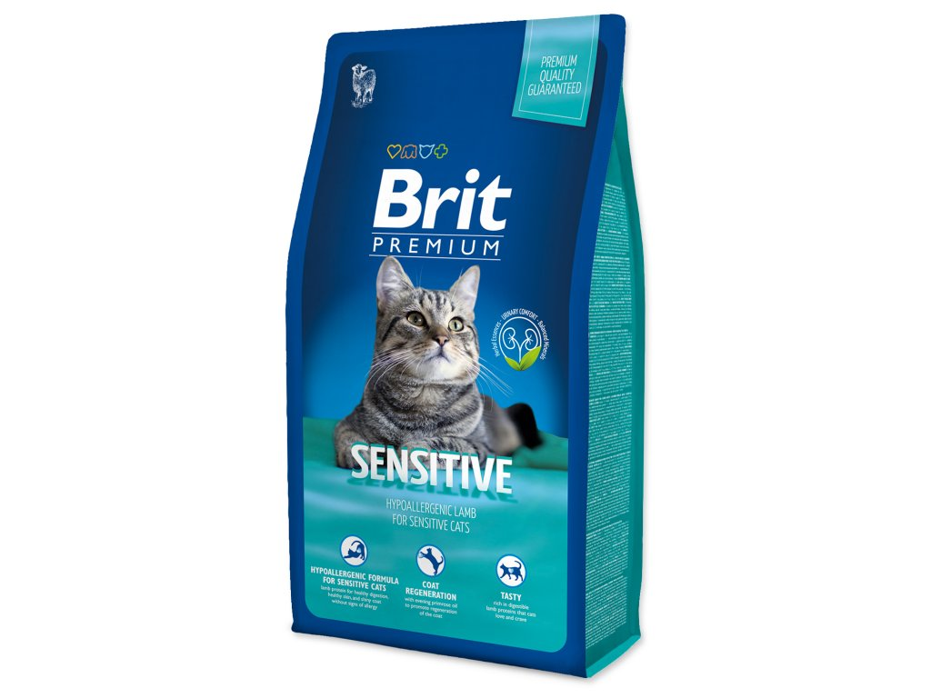 4142 1 brit premium cat sensitive 8 kg
