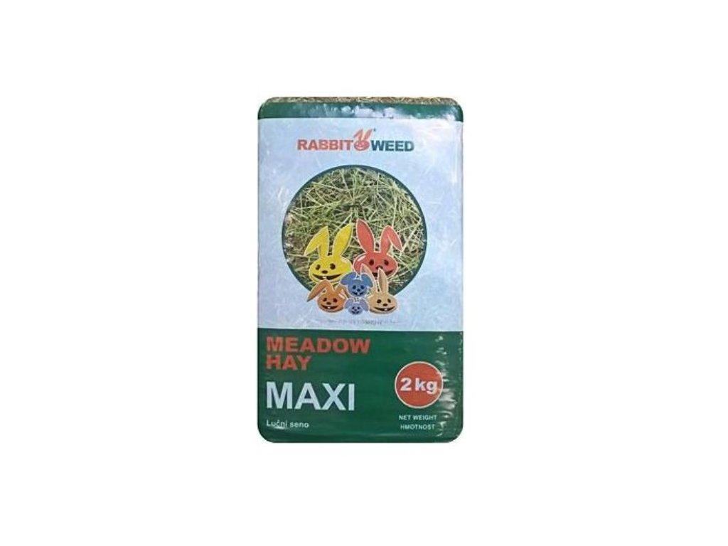 455 1 seno lucni maxi Rabbitweed 2 kg 100 l