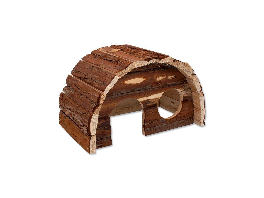 611 1 domek small animal hobit dreveny 25 x 16 x 15 cm