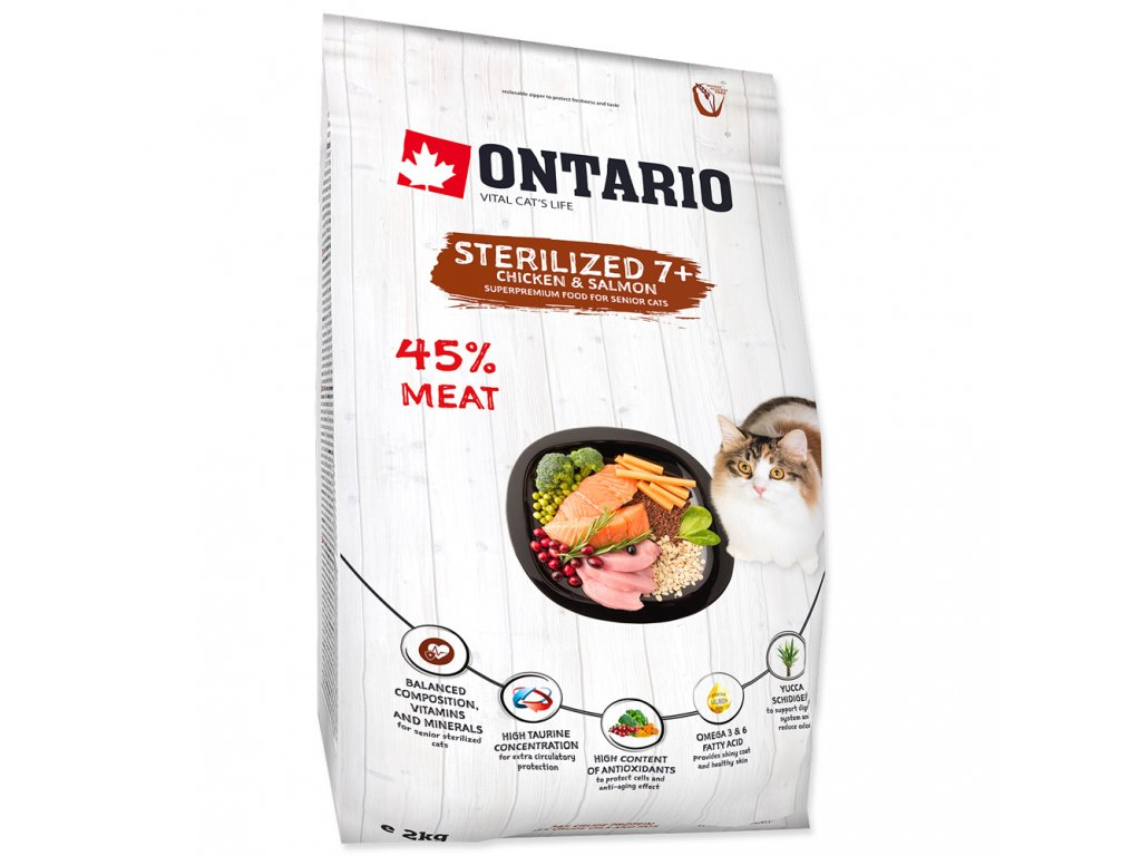 749 1 ontario cat sterilised 7 chicken salmon 2 kg