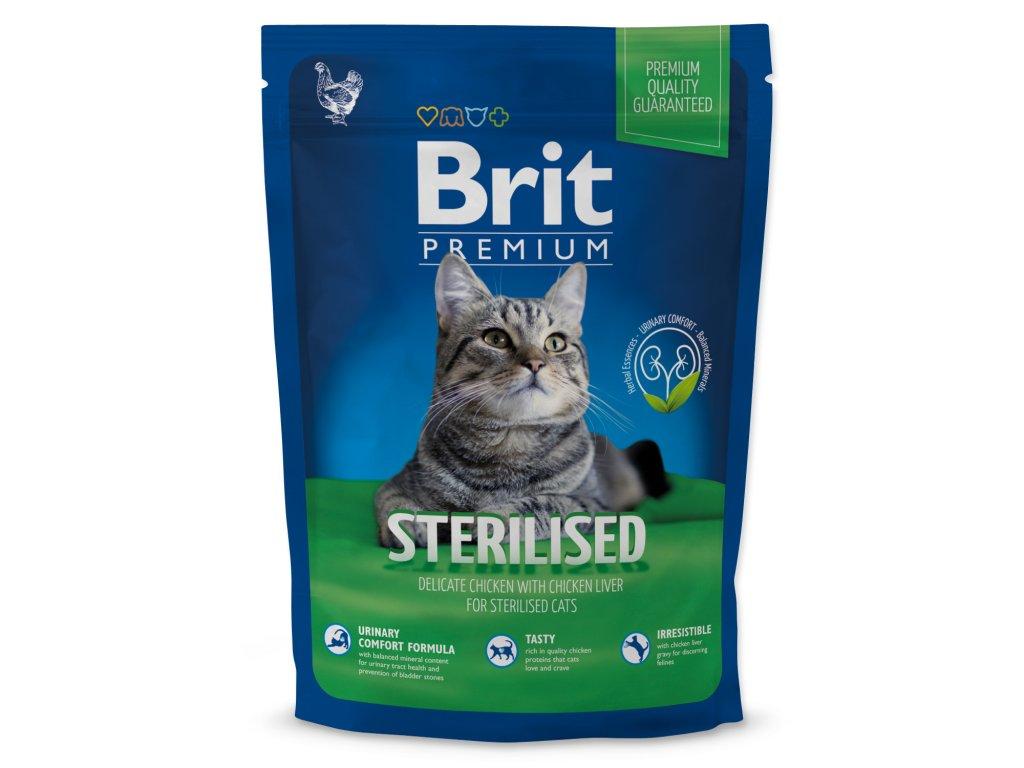 821 1 brit premium cat sterilised 800 g