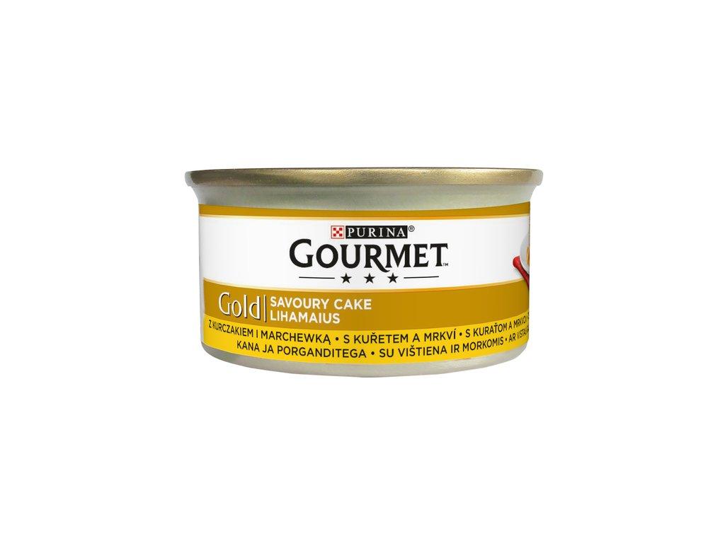 878 1 gourmet gold savoury cake s kuretem a mrkvi 85 g
