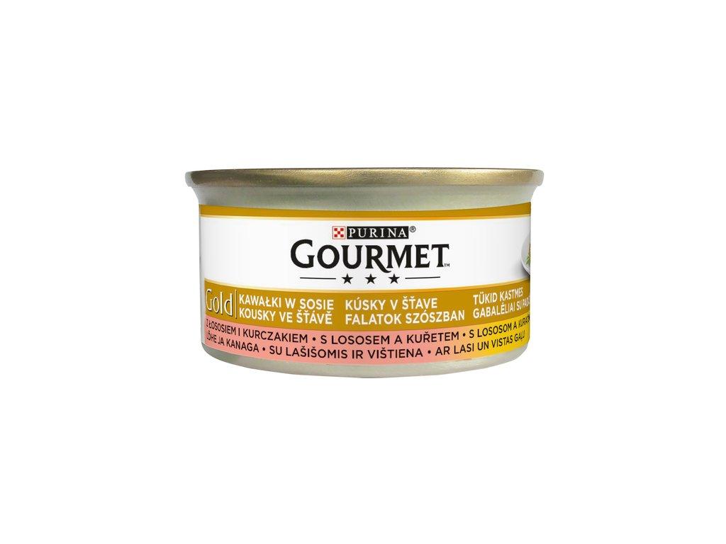 881 1 gourmet gold s lososem a kurecim 85 g