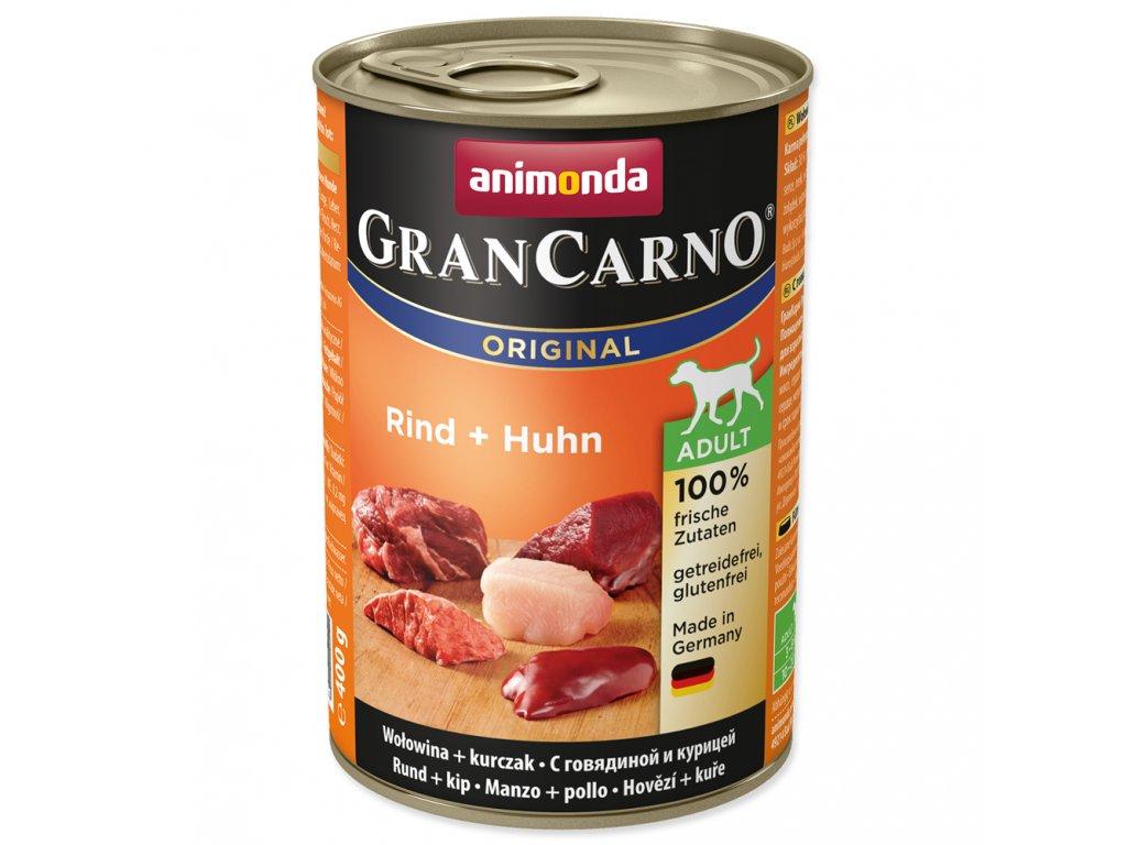 899 konzerva animonda Grancarno adult hovezi kure 400g
