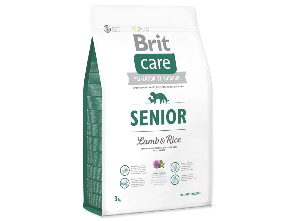 947 1 brit care senior lamb rice 3 kg