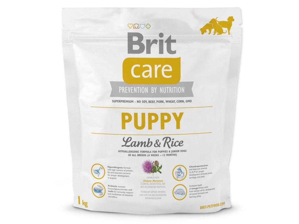 953 1 brit care puppy lamb rice 1 kg