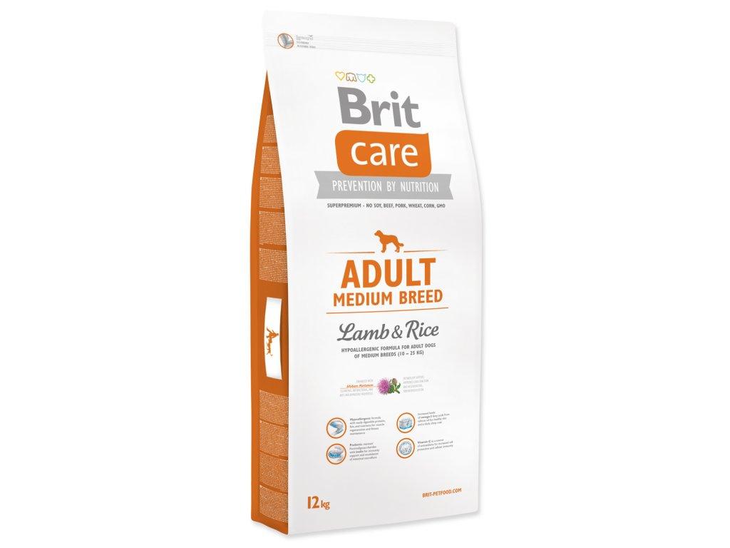 986 1 brit care adult medium breed lamb rice 12 kg