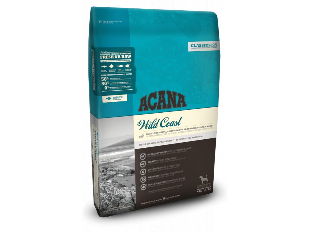 4253 acana wild coast 6 kg