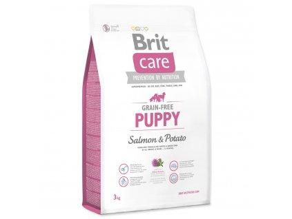1001 1 brit care grain free puppy salmon potato 3 kg