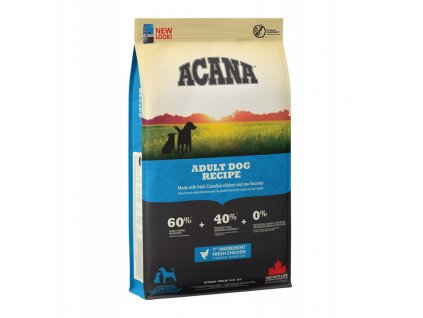 4328 acana heritage adult dog 17 kg