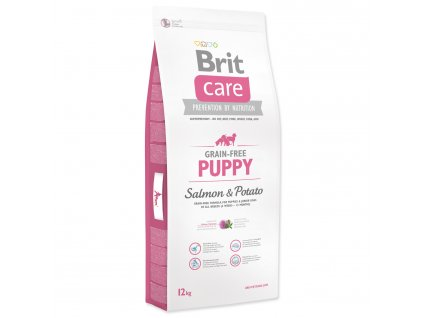 1004 1 brit care grain free puppy salmon potato 12 kg