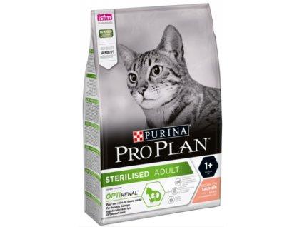 PRO PLAN CAT STERILISED losos 3 kg