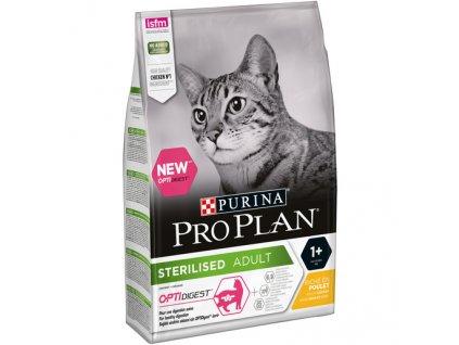 PRO PLAN CAT STERILISED kuře 3 kg