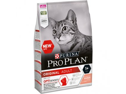 PRO PLAN CAT ADULT losos 3 kg