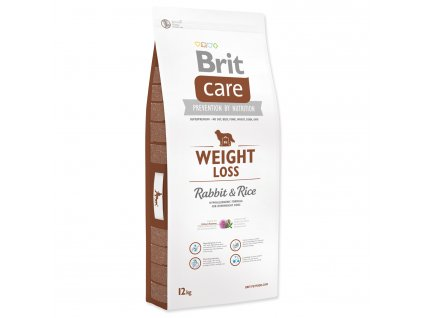 1085 1 brit care weight loss rabbit rice 12 kg