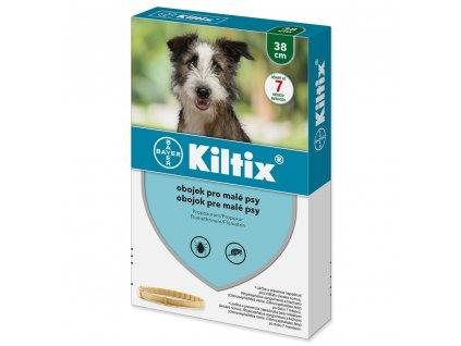 Kiltix antiparazitní obojek pro malé psy 38 cm