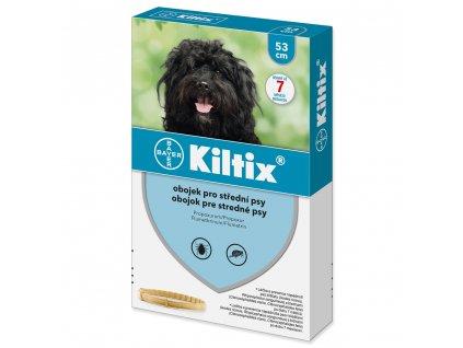 Kiltix antiparazitní obojek pro střední psy 53 cm